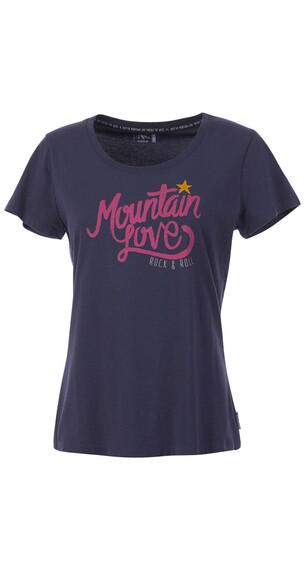 Maloja BywayM. - Camiseta manga corta Mujer - rosa/azul